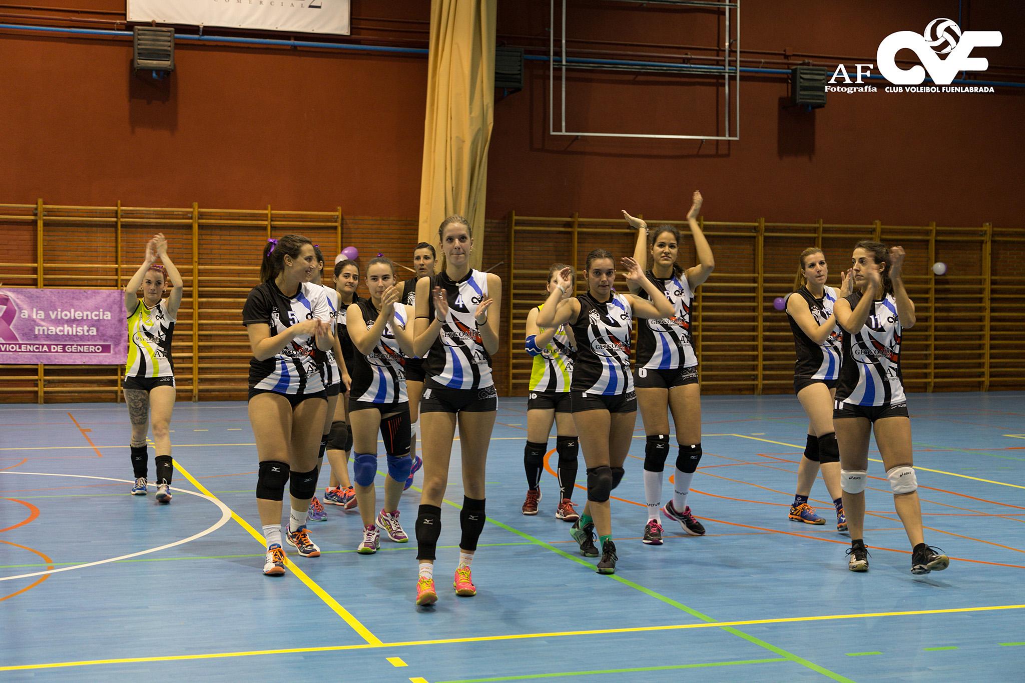 Una nueva victoria para el cv fuenlabrada club voleibol - Camino a casa fuenlabrada ...