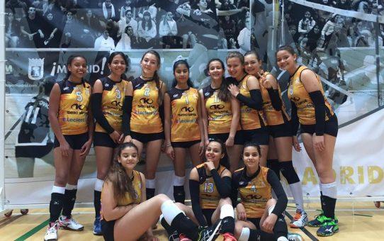 Infantil femenino CAMPEON 3 division